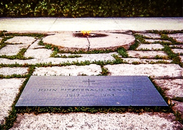 "The eternal flame, requested by Jacqueline Kennedy, was inspired by a similar flame at The Tomb of the Unknown Solder at the Arc de Triompe in Paris and the book, ""Candle In the Wind"", part of the ""Once and Future King"" collection by T.H. White."